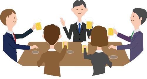 歓送迎会で乾杯と締めは誰がする?挨拶は転出と転入どちらが先?進行の順番は?