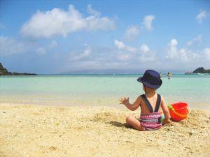 幼児が海水浴で熱中症にならないよう子供にすべき予防策は?