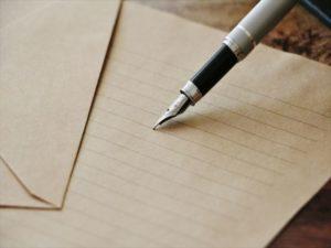 お中元に添える手紙の挨拶はどんな風に書く?